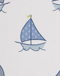 Sailing Boats Blue by