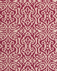 Clarke and Clarke Maroc F0679 Claret Fabric