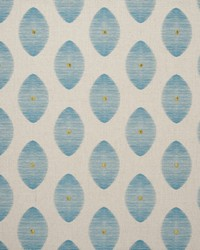 Clarke and Clarke Kindu Aqua Fabric
