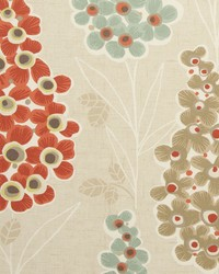 Clarke and Clarke Mustique F0747 Spice Fabric