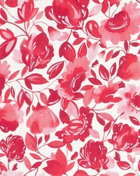Caitlin Linen F0817 Raspberry by