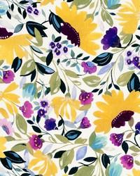 Isabelles Garden Linen Chartreuse by