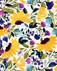 Isabelles Garden Velvet Chartreuse by