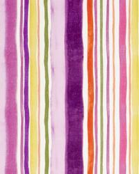 Sunrise Stripe Linen F083 Passion by
