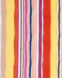 Sunrise Stripe Linen F083 Spice by