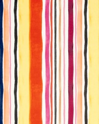 Clarke and Clarke Sunrise Stripe Velvet F08 Spice Fabric
