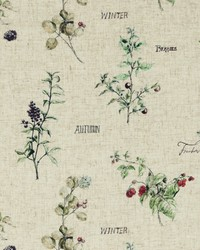 WILD BERRIES F0850/01 CAC BERRIES LINEN by