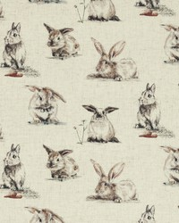 RABBITS F0853/01 CAC LINEN by