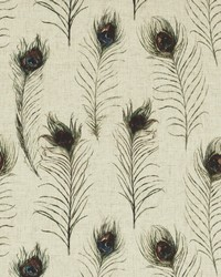 PEACOCK FEATHERS F0861/01 CAC FEATHERS LINEN by