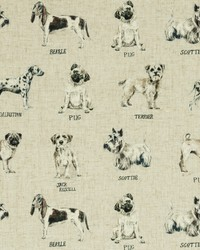 DOGS F0864/01 CAC LINEN by