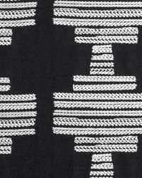 Clarke and Clarke Bw1010 F0882 Black white Fabric