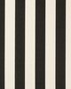 Clarke and Clarke ST JAMES STRIPE F0886 NOIR