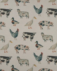 ON THE FARM F1169/01 CAC LINEN by