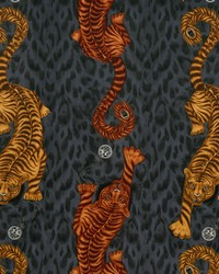 TIGRIS VELVET F1213/01 CAC FLAME by