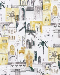 MARRAKECH F1368/02 CAC CHARCOAL/OCHRE by