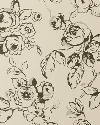 Delphine Wp Charcoal by  Clarke and Clarke Wallpaper