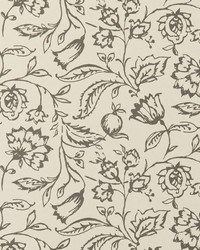 Marie Wp Charcoal Cream by  Clarke and Clarke Wallpaper