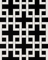Lattice Charcoal by  Clarke and Clarke Wallpaper