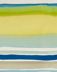 Sunrise Stripe Aqua  Citrus by