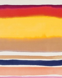 Sunrise Stripe Spice Wallpaper by