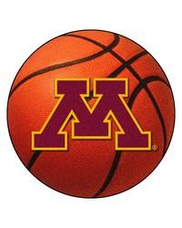 Minnesota Golden Gophers Basketball Rug by