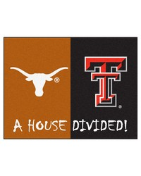 TexasTexas Tech House Divided Rugs 34x45 by