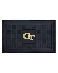 Georgia Tech Medallion Door Mat by