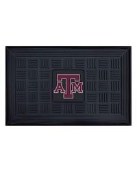 Texas AM Medallion Door Mat by