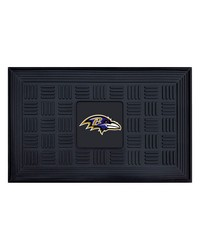 NFL Baltimore Ravens Medallion Door Mat by