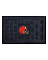 NFL Cleveland Browns Medallion Door Mat by