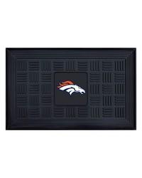 NFL Denver Broncos Medallion Door Mat by