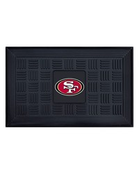 NFL San Francisco 49ers Medallion Door Mat by