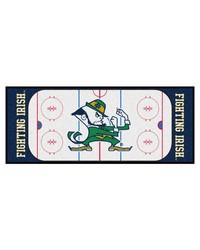Notre Dame Fighting Irish Hockey Runner Rug by