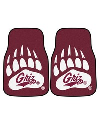 Montana 2pc Printed Carpet Car Mats 18x27 by