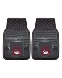 Montana 2pc Heavy Duty Vinyl Carpet Car Mats 18x27 by