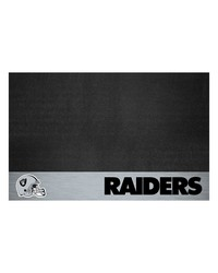 NFL Oakland Raiders Grill Mat 26x42 by