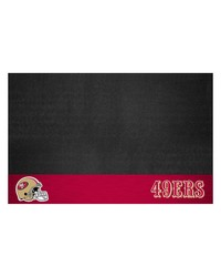 NFL San Francisco 49ers Grill Mat 26x42 by