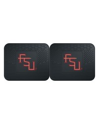 Florida State Backseat Utility Mats 2 Pack 14x17 by