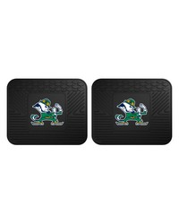 Notre Dame Backseat Utility Mats 2 Pack 14x17 by
