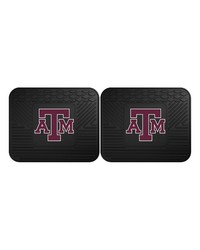 Texas AM Backseat Utility Mats 2 Pack 14x17 by