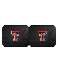 Texas Tech Backseat Utility Mats 2 Pack 14x17 by