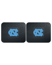UNC Chapel Hill Backseat Utility Mats 2 Pack 14x17 by