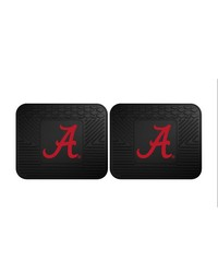 Alabama Backseat Utility Mats 2 Pack 14x17 by