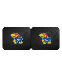 Kansas Backseat Utility Mats 2 Pack 14x17 by