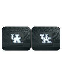 Kentucky Backseat Utility Mats 2 Pack 14x17 by