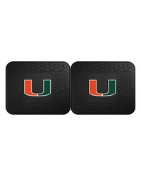 Miami Backseat Utility Mats 2 Pack 14x17 by