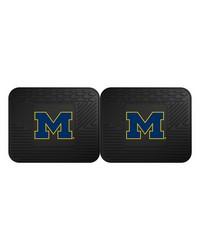 Michigan Backseat Utility Mats 2 Pack 14x17 by