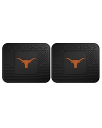 Texas Backseat Utility Mats 2 Pack 14x17 by