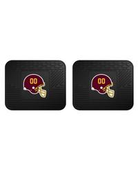 NFL Washington Redskins Backseat Utility Mats 2 Pack 14x17 by