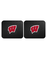 Wisconsin Backseat Utility Mats 2 Pack 14x17 by